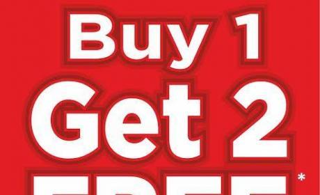 Buy 1 and get 2 Offer at K Corner, December 2016