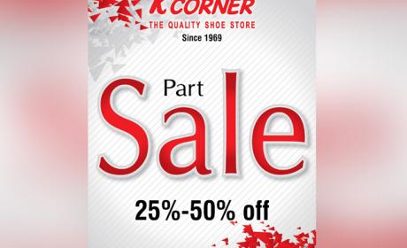 Up to 50% Sale at K Corner, November 2015