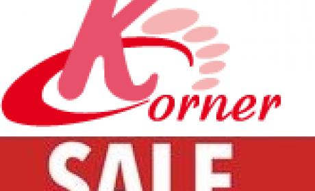 25% - 65% Sale at K Corner, April 2018