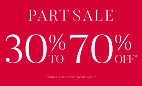 30% - 70% Sale at kazar, May 2018
