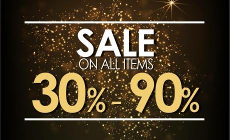 30% - 90% Sale at Kocca, November 2017