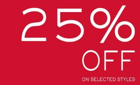 Up to 25% Sale at Kurt Geiger, November 2014
