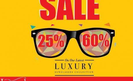 25% - 60% Sale at La Moda Sunglasses, July 2014
