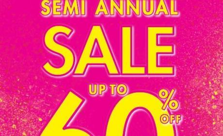 Up to 60% Sale at La Senza, June 2014