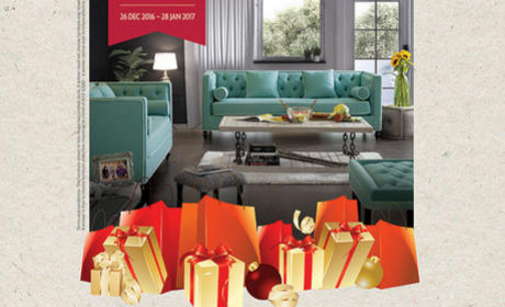 Spend 100 and you could be the lucky one to win an entire furniture set Offer at Lamcy Plaza, January 2017