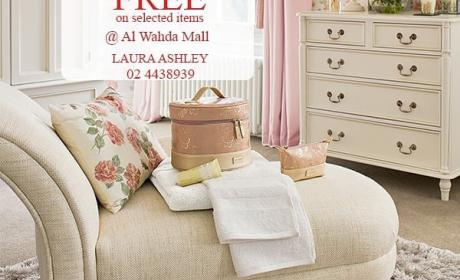 Buy 1 and get 1 Offer at Laura Ashley Home, June 2018