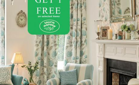 Buy 2 and get 1 Offer at Laura Ashley Home, August 2018