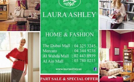 25% - 75% Sale at Laura Ashley Home, December 2014