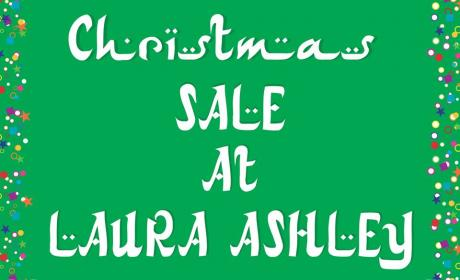 Special Offer at Laura Ashley Home, December 2016