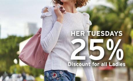 Up to 25% Sale at LC WAIKIKI, August 2017