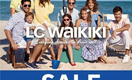 30% - 60% Sale at LC WAIKIKI, August 2017