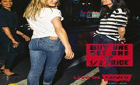 Buy 1 Get One @ ½ Price Offer at Levi's, November 2015