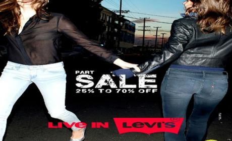 25% - 70% Sale at Levi's, February 2015