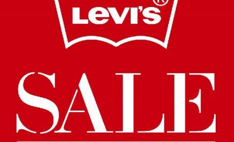 25% - 75% Sale at Levi's, February 2016