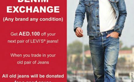 Special Offer at Levi's, November 2014