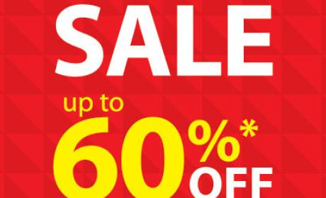 25% - 60% Sale at Lifestyle, January 2015