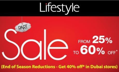 25% - 60% Sale at Lifestyle, December 2015