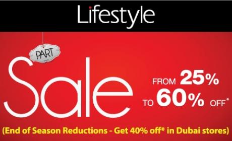 25% - 60% Sale at Lifestyle, January 2016