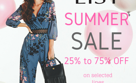 25% - 75% Sale at List, August 2016