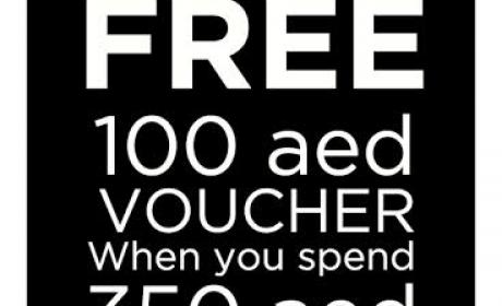 Spend 350 and GET 100 AED voucher Offer at List, July 2016