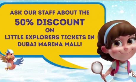 Up to 50% Sale at Little Explorers, November 2017
