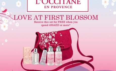 Spend 499 and receive this set for FREE Offer at L'occitane, February 2015