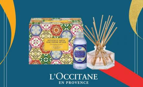 Spend 449 and receive a complimentary gift for your home Offer at L'occitane, December 2016