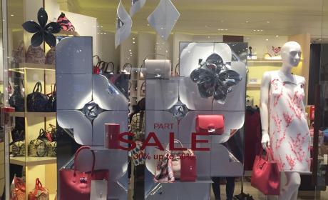 30% - 50% Sale at Longchamp, August 2017