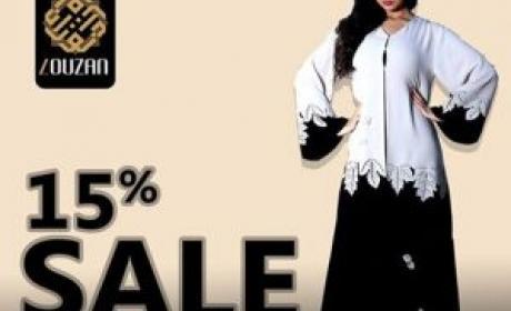 Up to 15% Sale at Louzan, May 2016