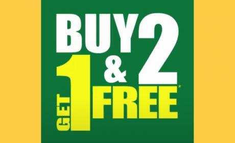 Buy 2 and get 1 Offer at LuLu Hypermarket, June 2018