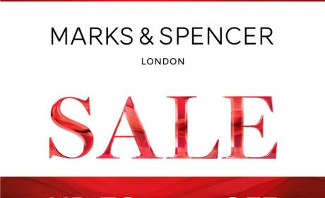 Up to 50% Sale at Marks & Spencer, August 2016