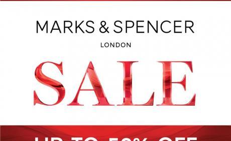 30% - 50% Sale at Marks & Spencer, October 2016
