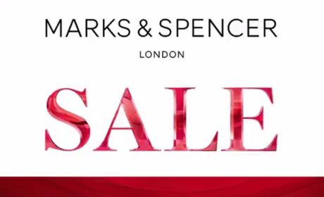 30% - 50% Sale at Marks & Spencer, April 2018