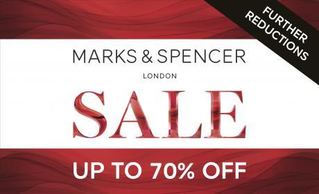 50% - 70% Sale at Marks & Spencer, April 2018