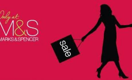 50% - 75% Sale at Marks & Spencer, May 2018