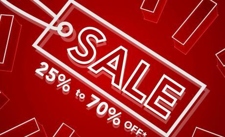 25% - 70% Sale at Max, September 2018