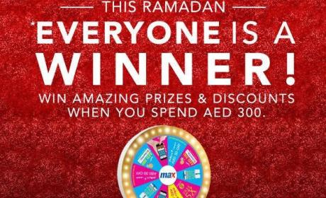 Spend 300 and Win Amazing Prizes & Discount Offer at Max, June 2017
