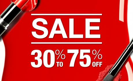 30% - 75% Sale at Mikyajy, January 2017