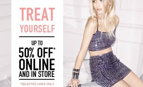 Up to 50% Sale at Miss Selfridge, December 2014