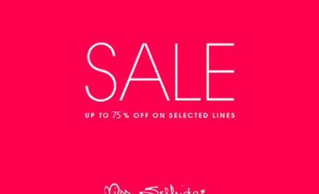 50% - 75% Sale at Miss Selfridge, February 2016