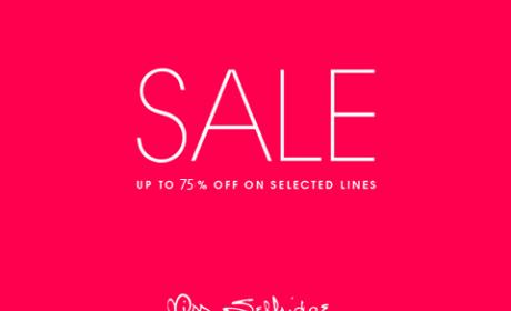 50% - 75% Sale at Miss Selfridge, April 2018