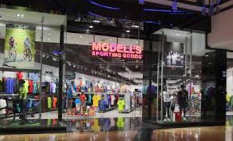 30% - 65% Sale at Modell's Sporting Goods, January 2018