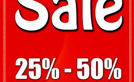 25% - 50% Sale at Monalisa, July 2016