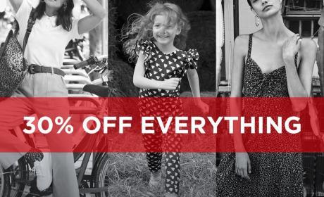 Monsoon Kids Sale 30% off, December 2019