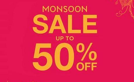 Up to 50% Sale at Monsoon, January 2017