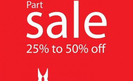 25% - 50% Sale at Moreschi, December 2014