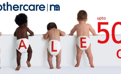 30% - 50% Sale at Mothercare, July 2017