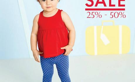 25% - 50% Sale at Mothercare, July 2017