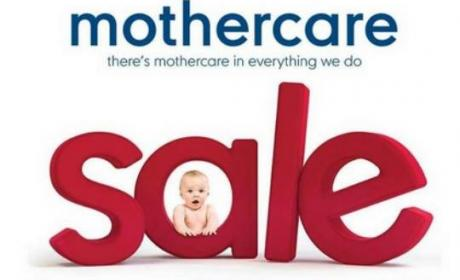 25% - 50% Sale at Mothercare, January 2018