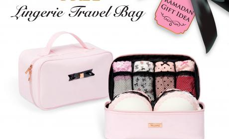 Spend 449 And get a lingerie travel bag free Offer at Nayomi, June 2017